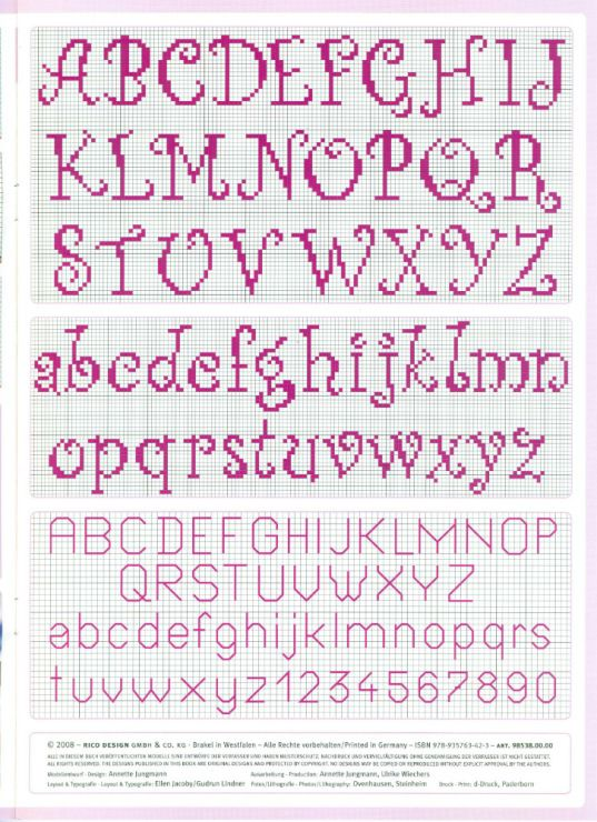 Cross-stitch ABCs