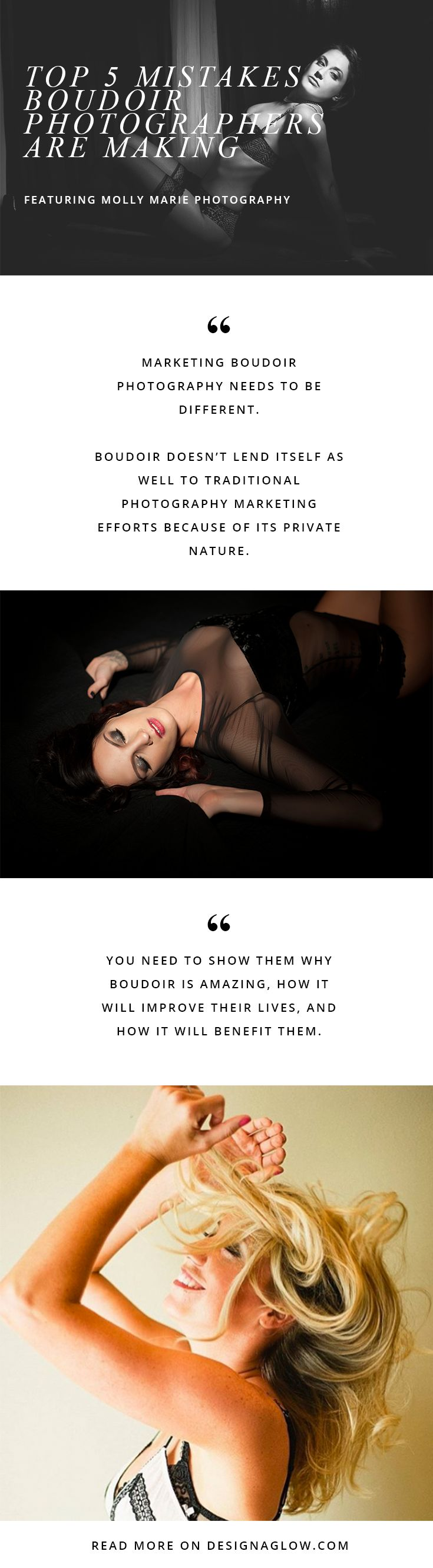 Essential marketing tips for any boudoir photographer.