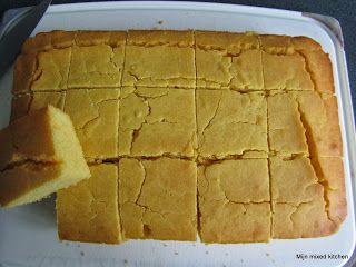 Mijn mixed kitchen: Mısır ekmeği (Turks maïsbrood)