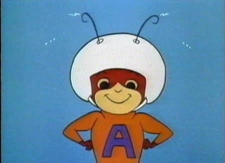 Resultado de imagen para la hormiga atomica caricatura de los noventas