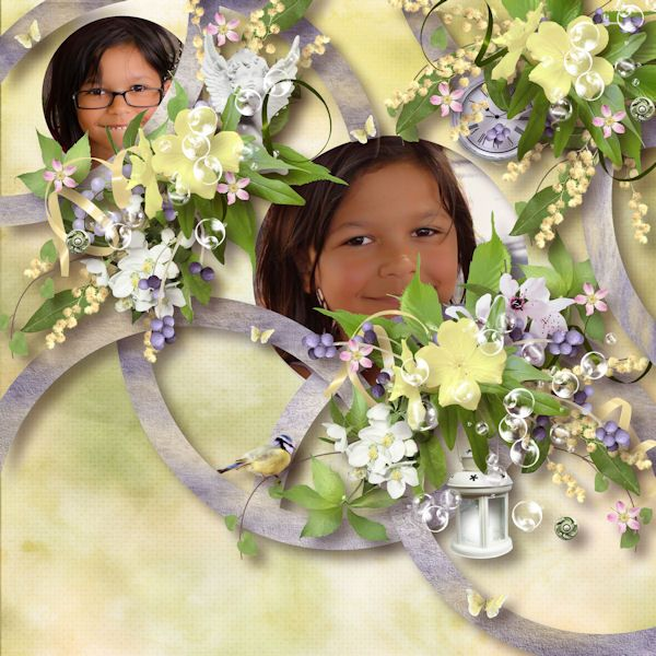 "Templates Pack 7 by Flomelle Photo de Myriam Grandet http://www.paradisescrap.com/fr/160_flomelle Kit ""Flower For You"" by JMcréation"