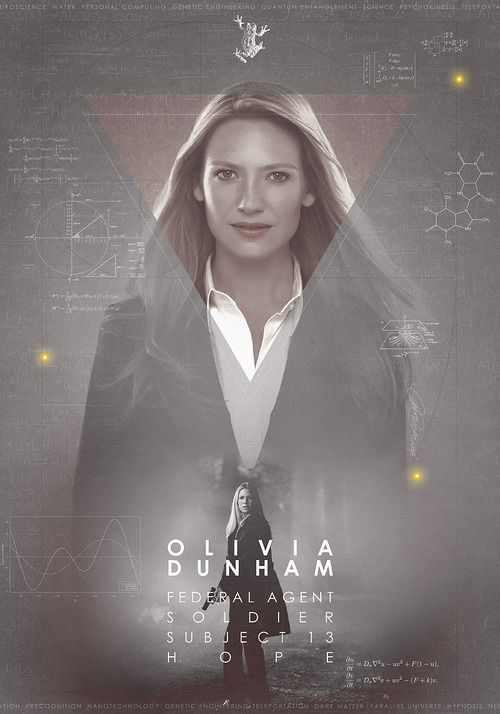 Fringe: Olivia Dunham. Wins my personal award for Best Voice. If only she would read me a story...