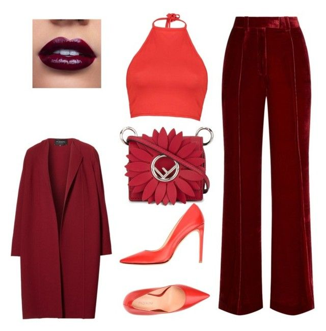style 9 by krisstik on Polyvore featuring polyvore, fashion, style, Boohoo, Lafayette 148 New York, Racil, Carlo Pazolini, Fendi and clothing