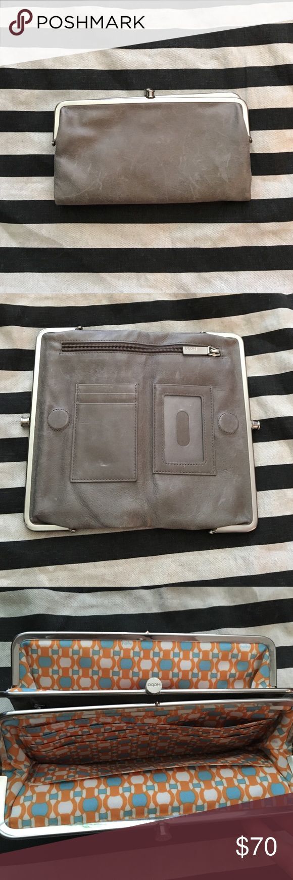 Grey hobo wallet Grey hobo wallet HOBO Bags Wallets