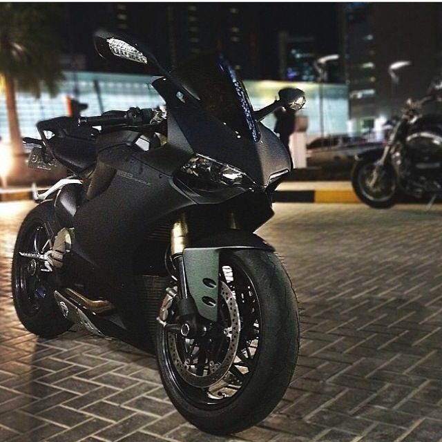 Ducati Panigale  That matt black though. Mm