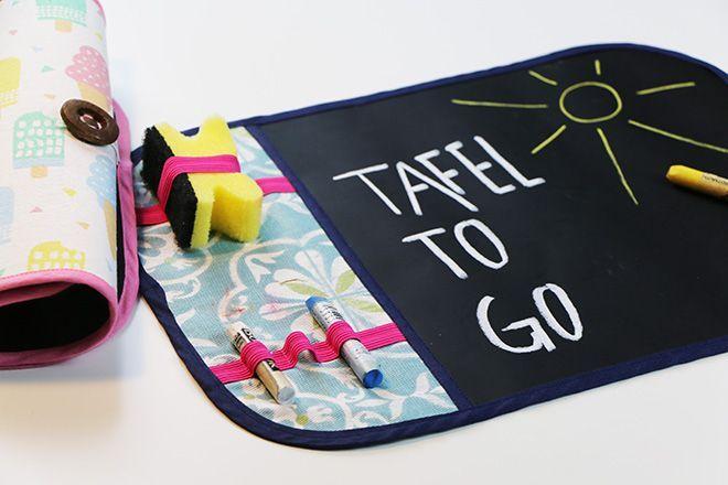 Anleitung: Tafel to go (Tafelstoff)