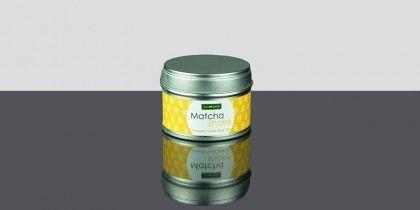 Matcha Shake Pineapple, Té verde molido con aroma de piña lleno de antioxidantes.