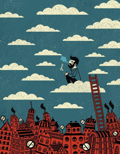 Sztuka na ubraniach: Świetne ilustracje Dawida Ryskiego | Minerva - fajny blog o sztuce