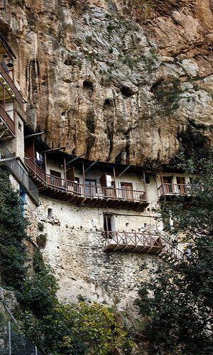 Monastery of St. John the Baptist (12th century) ~ Stemnitsa, Arcadia, Greece | by Kostas Ladas plf-travelphotos.com