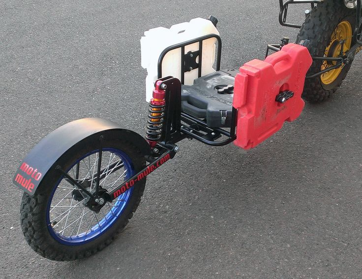 moto-mule a cargo trailer to pull behind your dual sport motorcycle - Page 33 - ADVrider