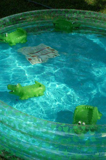 "Photo 3 of 14: Alligator - Pink & Green / Birthday ""Emmeline's 3rd Birthday"" | Catch My Party"