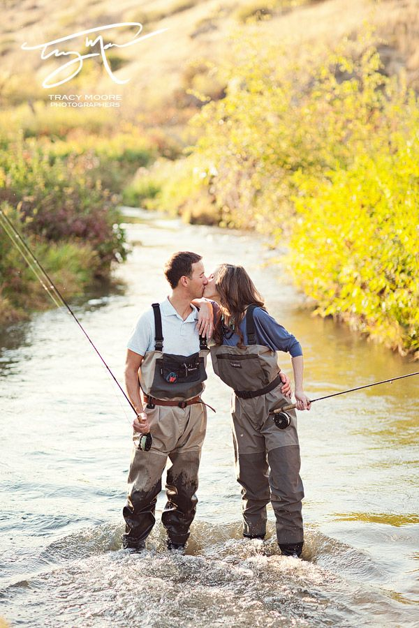 Montana Engagement Shoot | Tracy Moore Photography | fly fishing