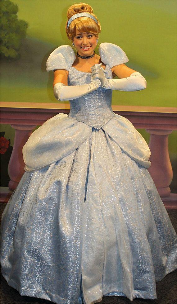 Cinderella Adult Costume Walt Disney Princess Cosplay By