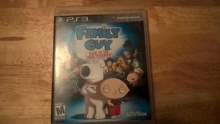 Family Guy: Back to the Multiverse (Sony PlayStation 3, 2012) COMPLETE