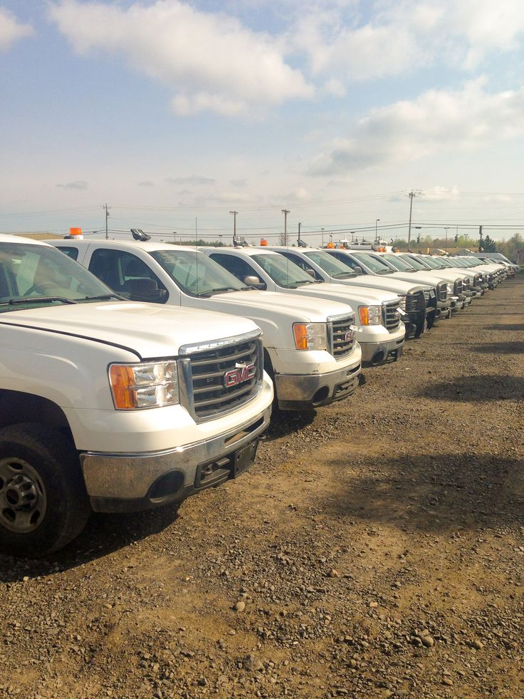 Find used chevy, ford, and dodge work trucks at our public auctions!