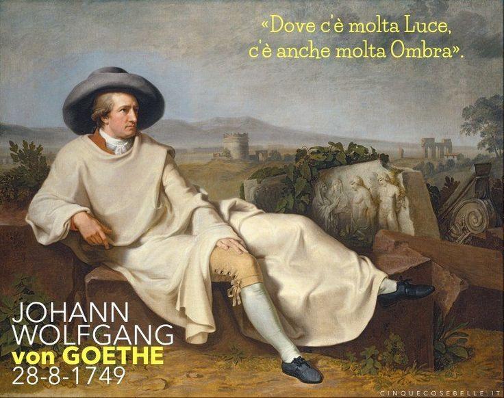 267 anni dalla nascita di Johann Wolfgang von Goethe