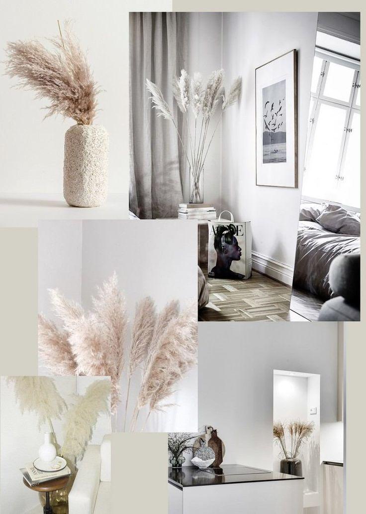 Herbe de la pampa jolies idées de déco intérieur interiordesign design