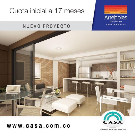 En Apartamentos Arreboles del Retiro te damos espacios exlusivos. #estrenaapartamentoenelretiro #apartamentopropio #viveloacogedor #exclusivo
