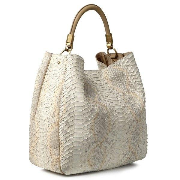 Yves Saint Laurent 'Roady Bag' aus Pythonleder Safari