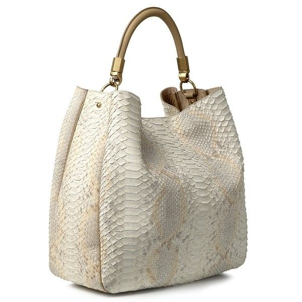 Yves Saint Laurent \u0026#39;Roady Bag\u0026#39; aus Pythonleder Safari ...