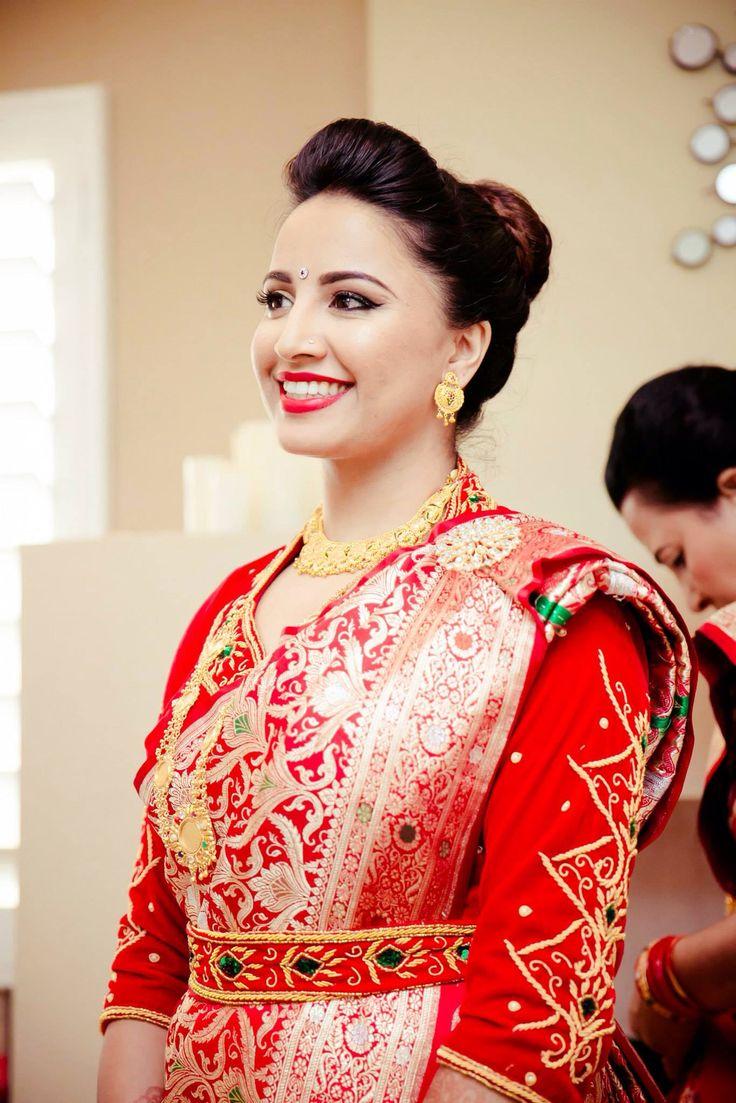 love the way she carry on | Nepali Wedding | Pinterest ...