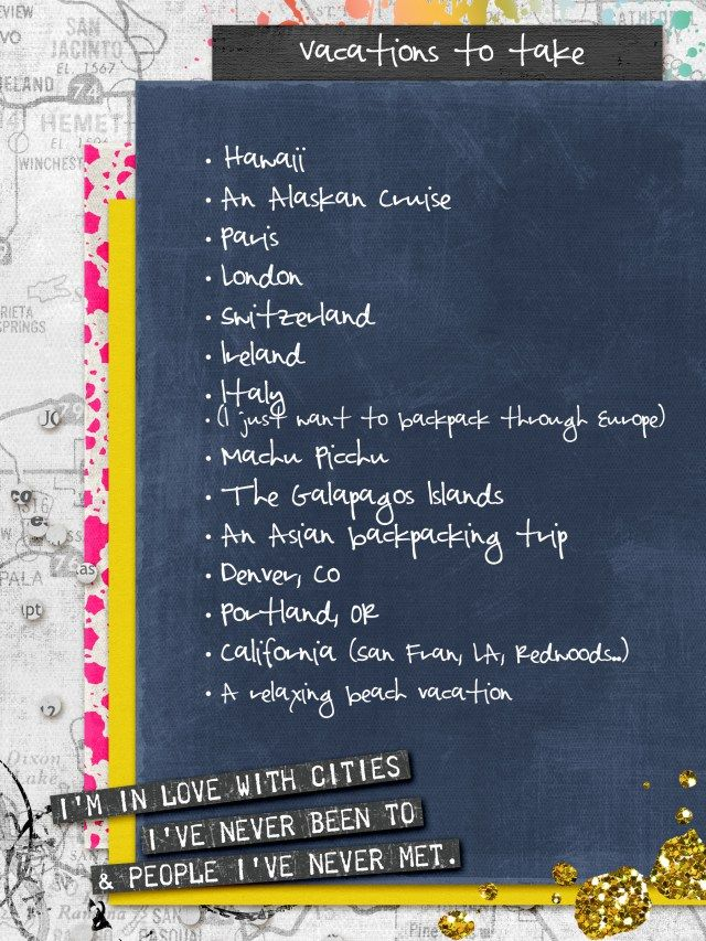 30 Days of Lists Blog Hop Alexandra Rae Design