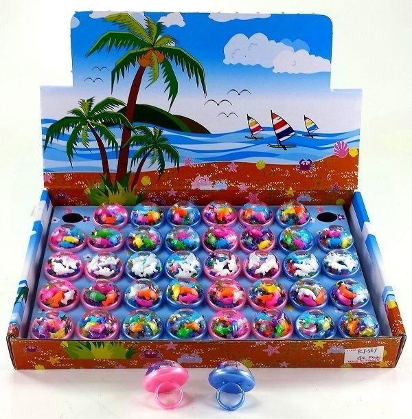 Meisjes ringetjes  | vrolijke strand ringetjes | zomer traktatie hit!