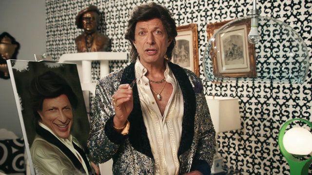 New GE Ad Stars Jeff Goldblum. You can watch the video here: http://www.fastcocreate.com/3036342/tim-erics-awesome-new-ge-ad-stars-jeff-goldblum-great-job