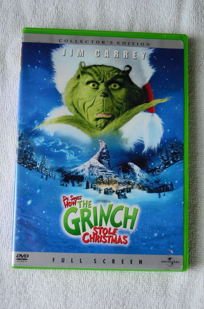 how the grinch stole christmas vhs ebay - How The Grinch Stole Christmas Vhs