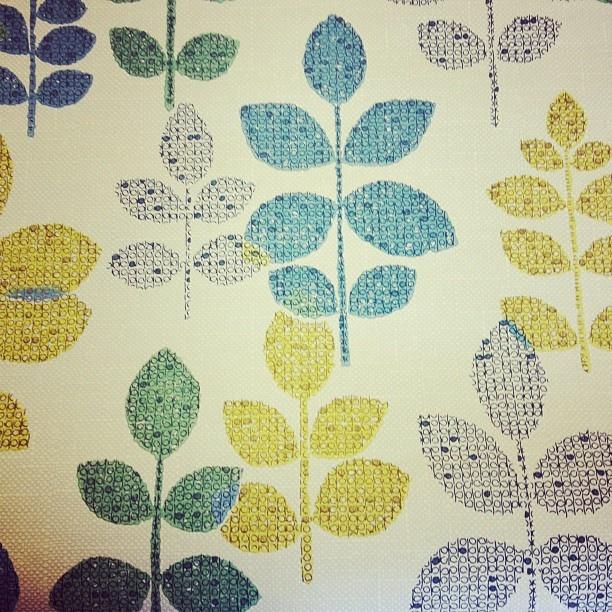 Lovely vintage wallpaper - @donnaflower- #webstagram