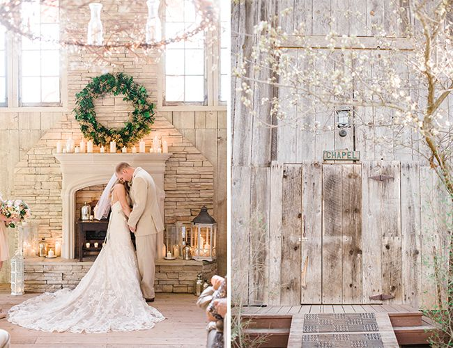 Romantic Winter Barn Wedding - Inspired By ThisInspired By This