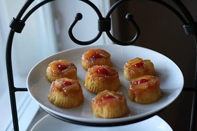 Pineapple Upside Down MinisMinis Dog Qu, Food, Pineapple Upside Down