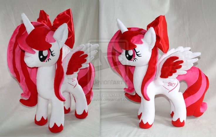 how to make a mlp oc plush