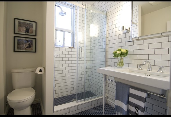 Great Use Of Subway Tiles In This Bathroom From An Episode Of Income Propert