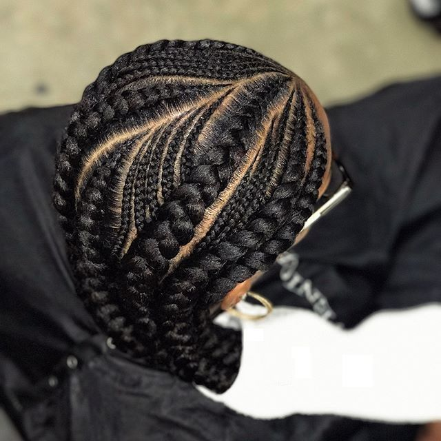 Latest African Cornrows Hairstyles : Cute and Chic Braids