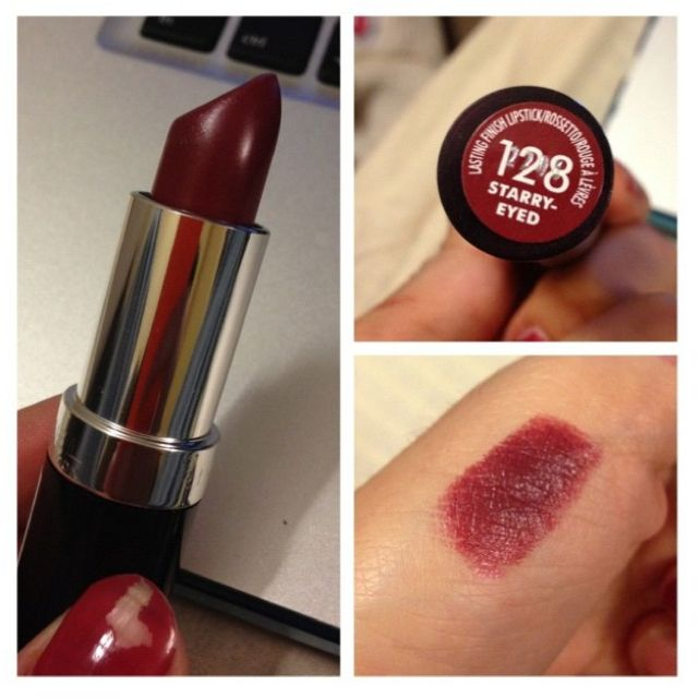 Revlon Burgundy lipstick///Ooohhh...I'm buying this!! Perfect for Fall & Winter!!