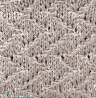 Knitting Jacquard Stitch : 17 Best images about Knitting & crochet stitches on Pinterest Cable, St...