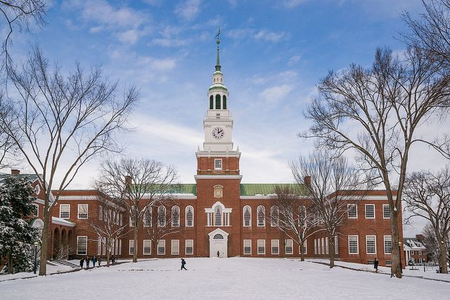 dartmouth college application essay