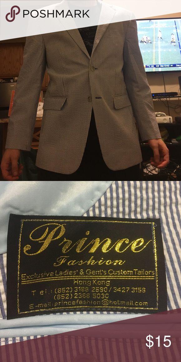Seersucker jacket! Never been worn! Great condition. Suits & Blazers Sport Coats & Blazers