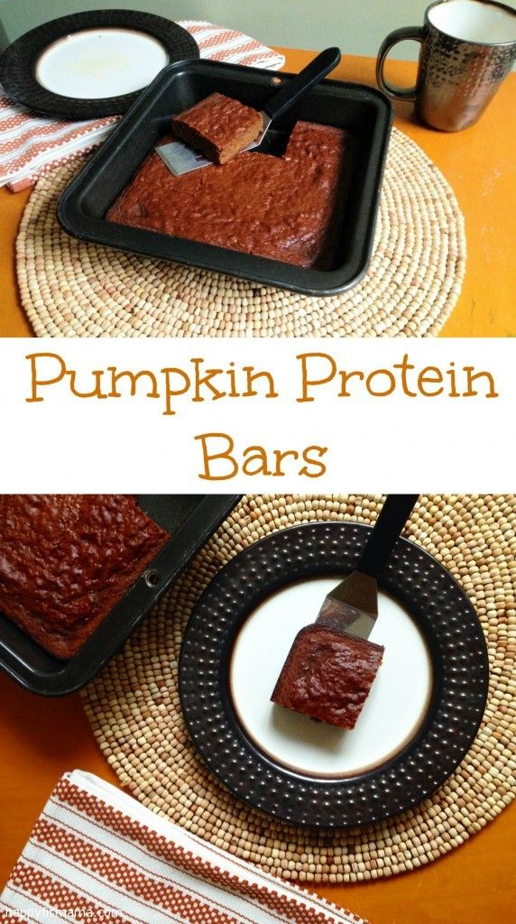 Celebrate all things PUMPKIN with these super easy Pumpkin Protein Bars - a recipe that can make you feel good about desserts. happyfitmama.com