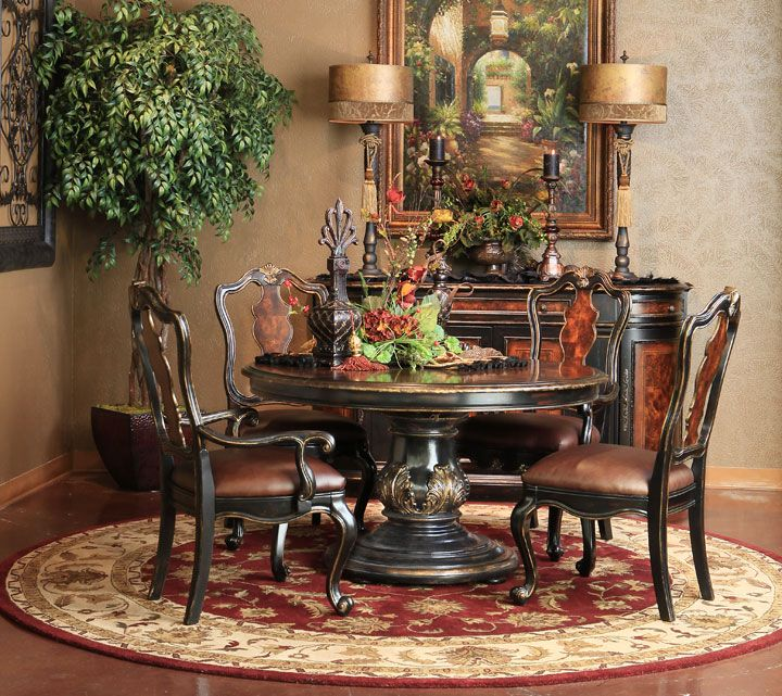 Mediterranean Style Dining Room Sets: 443 Best Images About Tuscan Decor On Pinterest
