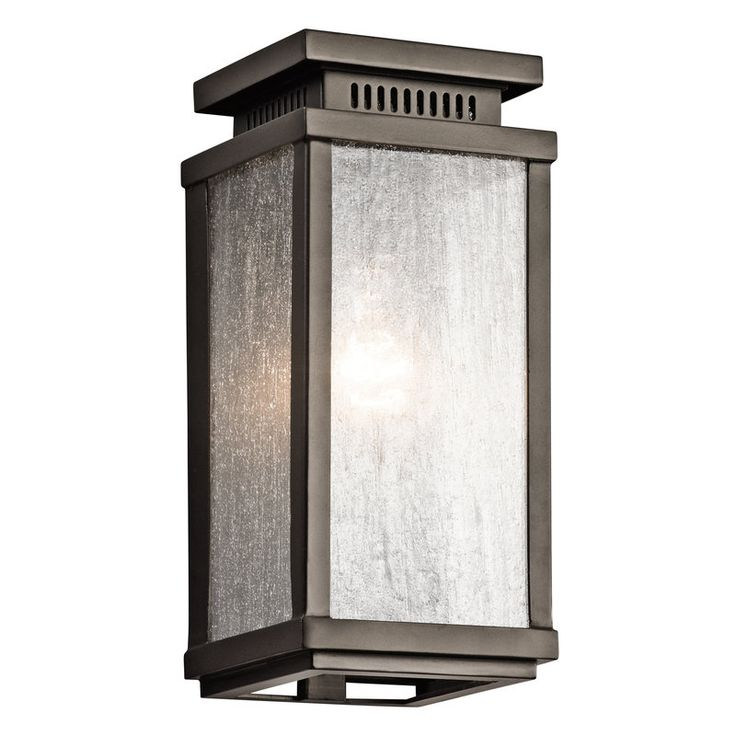 View the Kichler 49384 Manningham Collection 1 Light 11  Outdoor Wall Light  at LightingDirect 125 best Lighting images on Pinterest   Circa lighting  Home and  . Kichler Lighting Outdoor Sconce. Home Design Ideas