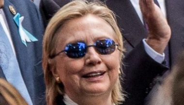 Hillary Clinton Wearing Anti-seizure Sunglasses/Health Coverup Implodes