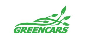 New logo for the domain name GREENCARS.COM