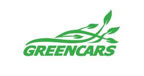 New logo for the domain name GREENCARS.COM