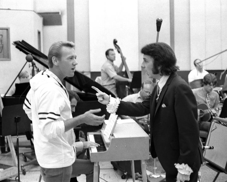 """Dammit Bobby! I call the shots around here!"" Phil Spector calls out Righteous Brother Bobby Hatfield at a Gold Star session..."