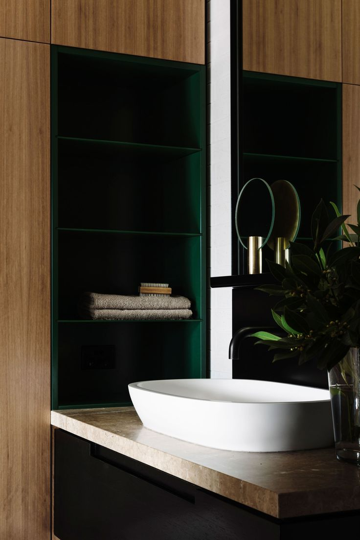 Best bathroom sanitary ware - Gold Tinged Scandinavian Simplicity For A Melbourne Apartment By Fiona Lynch