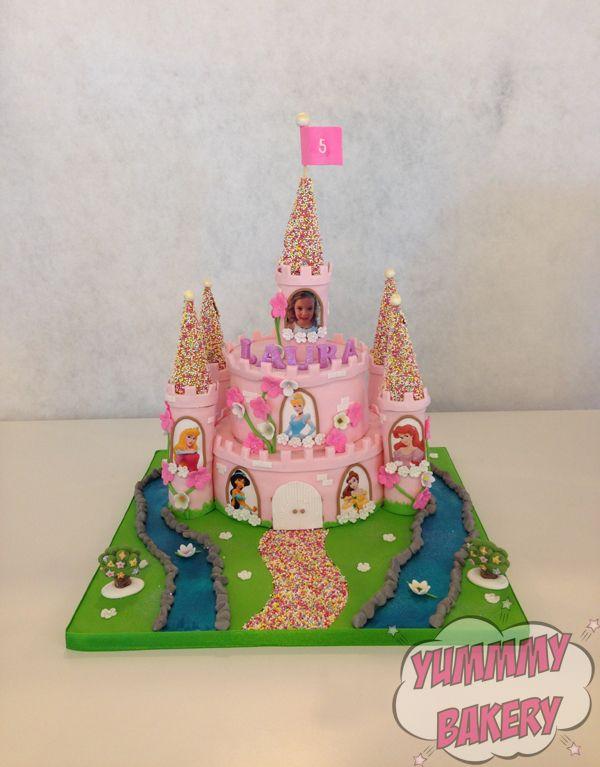 Cinderella Ariel Birthday Cake Pictures