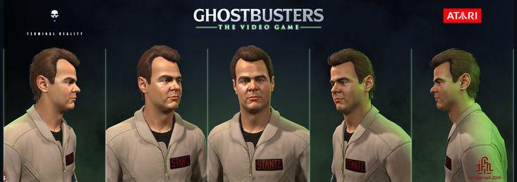 ArtStation - Ghostbusters the Video Game - Ray Stantz, Ian McIntosh