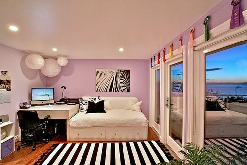 two story bedroom @ DIY Home Design\